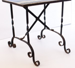 Gypsy Dancers Wrought Iron Table