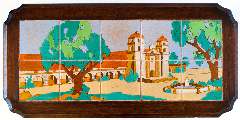 Santa Barbara Mission by Taylor