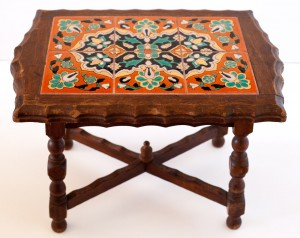 Floral Geometric Table by Taylor