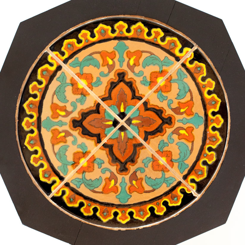 Stand with a Roundel Tile Set by Taylor