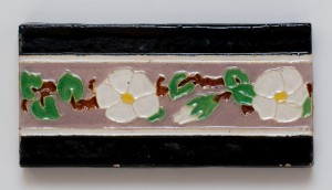 Floral Trim Tiles by Malibu