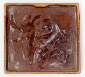 Horse and Rider Wall Plaque