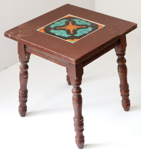 Single Spanish Tile Table by Taylor